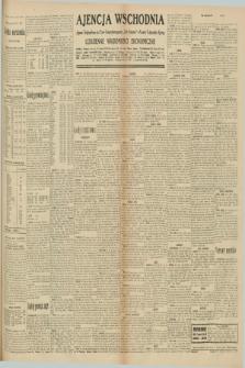 """Ajencja Wschodnia. Codzienne Wiadomości Ekonomiczne = Agence Télégraphique de l'Est = Telegraphenagentur """"Der Ostdienst"""" = Eastern Telegraphic Agency. R.10, nr 216 (20 września 1930)"""