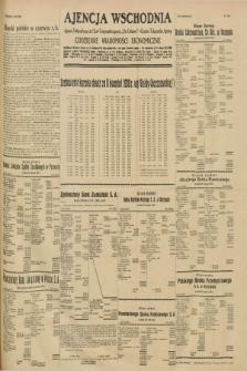"""Ajencja Wschodnia. Codzienne Wiadomości Ekonomiczne = Agence Télégraphique de l'Est = Telegraphenagentur """"Der Ostdienst"""" = Eastern Telegraphic Agency. R.10, nr 216 A ([20] września 1930)"""