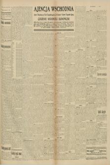 """Ajencja Wschodnia. Codzienne Wiadomości Ekonomiczne = Agence Télégraphique de l'Est = Telegraphenagentur """"Der Ostdienst"""" = Eastern Telegraphic Agency. R.10, nr 217 (22 września 1930)"""