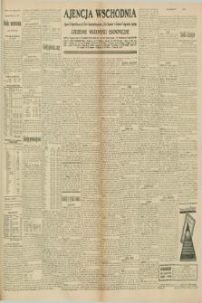 """Ajencja Wschodnia. Codzienne Wiadomości Ekonomiczne = Agence Télégraphique de l'Est = Telegraphenagentur """"Der Ostdienst"""" = Eastern Telegraphic Agency. R.10, nr 218 (23 września 1930)"""