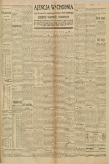 """Ajencja Wschodnia. Codzienne Wiadomości Ekonomiczne = Agence Télégraphique de l'Est = Telegraphenagentur """"Der Ostdienst"""" = Eastern Telegraphic Agency. R.10, nr 219 (24 września 1930)"""