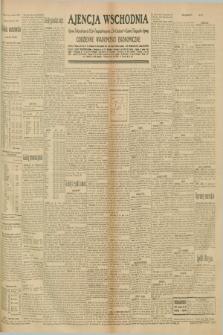 """Ajencja Wschodnia. Codzienne Wiadomości Ekonomiczne = Agence Télégraphique de l'Est = Telegraphenagentur """"Der Ostdienst"""" = Eastern Telegraphic Agency. R.10, nr 222 (27 września 1930)"""