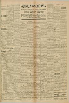"""Ajencja Wschodnia. Codzienne Wiadomości Ekonomiczne = Agence Télégraphique de l'Est = Telegraphenagentur """"Der Ostdienst"""" = Eastern Telegraphic Agency. R.10, nr 223 (29 września 1930)"""