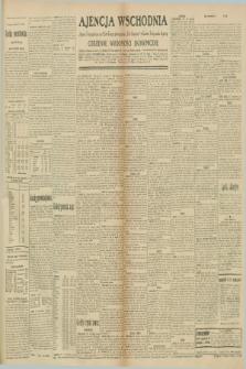 """Ajencja Wschodnia. Codzienne Wiadomości Ekonomiczne = Agence Télégraphique de l'Est = Telegraphenagentur """"Der Ostdienst"""" = Eastern Telegraphic Agency. R.10, nr 224 (30 września 1930)"""