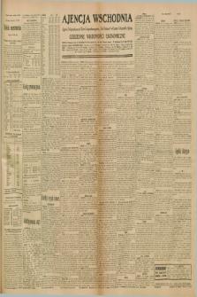 """Ajencja Wschodnia. Codzienne Wiadomości Ekonomiczne = Agence Télégraphique de l'Est = Telegraphenagentur """"Der Ostdienst"""" = Eastern Telegraphic Agency. R.10, nr 226 (2 października 1930)"""