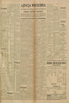 """Ajencja Wschodnia. Codzienne Wiadomości Ekonomiczne = Agence Télégraphique de l'Est = Telegraphenagentur """"Der Ostdienst"""" = Eastern Telegraphic Agency. R.10, nr 228 (4 października 1930)"""