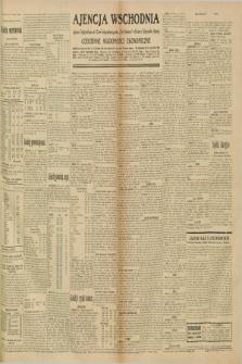 """Ajencja Wschodnia. Codzienne Wiadomości Ekonomiczne = Agence Télégraphique de l'Est = Telegraphenagentur """"Der Ostdienst"""" = Eastern Telegraphic Agency. R.10, nr 232 (9 października 1930)"""
