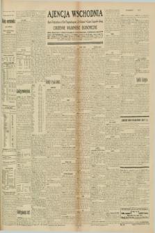 """Ajencja Wschodnia. Codzienne Wiadomości Ekonomiczne = Agence Télégraphique de l'Est = Telegraphenagentur """"Der Ostdienst"""" = Eastern Telegraphic Agency. R.10, nr 233 (10 października 1930)"""