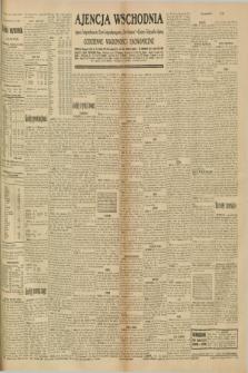 """Ajencja Wschodnia. Codzienne Wiadomości Ekonomiczne = Agence Télégraphique de l'Est = Telegraphenagentur """"Der Ostdienst"""" = Eastern Telegraphic Agency. R.10, nr 234 (11 października 1930)"""
