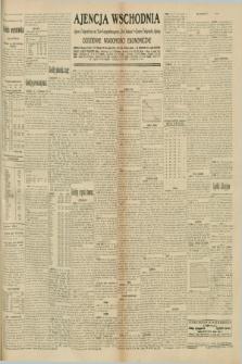"""Ajencja Wschodnia. Codzienne Wiadomości Ekonomiczne = Agence Télégraphique de l'Est = Telegraphenagentur """"Der Ostdienst"""" = Eastern Telegraphic Agency. R.10, nr 235 (13 października 1930)"""