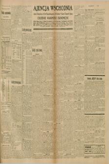 """Ajencja Wschodnia. Codzienne Wiadomości Ekonomiczne = Agence Télégraphique de l'Est = Telegraphenagentur """"Der Ostdienst"""" = Eastern Telegraphic Agency. R.10, nr 236 (14 października 1930)"""