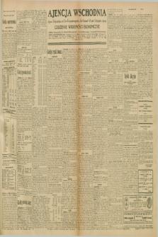 """Ajencja Wschodnia. Codzienne Wiadomości Ekonomiczne = Agence Télégraphique de l'Est = Telegraphenagentur """"Der Ostdienst"""" = Eastern Telegraphic Agency. R.10, nr 243 (22 października 1930)"""