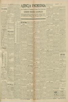 """Ajencja Wschodnia. Codzienne Wiadomości Ekonomiczne = Agence Télégraphique de l'Est = Telegraphenagentur """"Der Ostdienst"""" = Eastern Telegraphic Agency. R.10, nr 244 (23 października 1930)"""