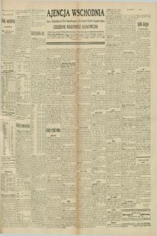 """Ajencja Wschodnia. Codzienne Wiadomości Ekonomiczne = Agence Télégraphique de l'Est = Telegraphenagentur """"Der Ostdienst"""" = Eastern Telegraphic Agency. R.10, nr 245 (24 października 1930)"""