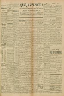 """Ajencja Wschodnia. Codzienne Wiadomości Ekonomiczne = Agence Télégraphique de l'Est = Telegraphenagentur """"Der Ostdienst"""" = Eastern Telegraphic Agency. R.10, nr 247 (27 października 1930)"""