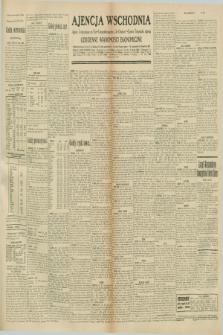 """Ajencja Wschodnia. Codzienne Wiadomości Ekonomiczne = Agence Télégraphique de l'Est = Telegraphenagentur """"Der Ostdienst"""" = Eastern Telegraphic Agency. R.10, nr 250 (30 października 1930)"""