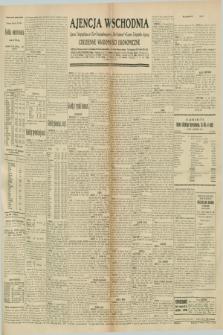 """Ajencja Wschodnia. Codzienne Wiadomości Ekonomiczne = Agence Télégraphique de l'Est = Telegraphenagentur """"Der Ostdienst"""" = Eastern Telegraphic Agency. R.10, nr 253 (4 listopada 1930)"""