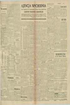 """Ajencja Wschodnia. Codzienne Wiadomości Ekonomiczne = Agence Télégraphique de l'Est = Telegraphenagentur """"Der Ostdienst"""" = Eastern Telegraphic Agency. R.10, nr 255 (6 listopada 1930)"""