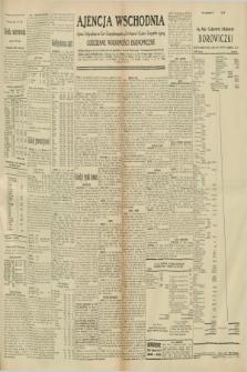 """Ajencja Wschodnia. Codzienne Wiadomości Ekonomiczne = Agence Télégraphique de l'Est = Telegraphenagentur """"Der Ostdienst"""" = Eastern Telegraphic Agency. R.10, nr 256 (7 listopada 1930)"""