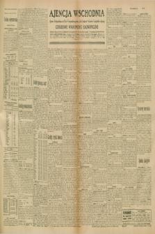 """Ajencja Wschodnia. Codzienne Wiadomości Ekonomiczne = Agence Télégraphique de l'Est = Telegraphenagentur """"Der Ostdienst"""" = Eastern Telegraphic Agency. R.10, nr 259 (11 listopada 1930)"""