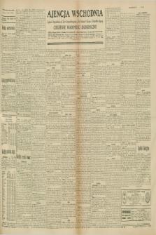 """Ajencja Wschodnia. Codzienne Wiadomości Ekonomiczne = Agence Télégraphique de l'Est = Telegraphenagentur """"Der Ostdienst"""" = Eastern Telegraphic Agency. R.10, nr 260 (12 listopada 1930)"""