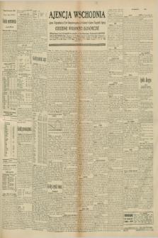 """Ajencja Wschodnia. Codzienne Wiadomości Ekonomiczne = Agence Télégraphique de l'Est = Telegraphenagentur """"Der Ostdienst"""" = Eastern Telegraphic Agency. R.10, nr 263 (15 listopada 1930)"""