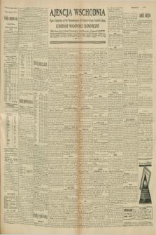 """Ajencja Wschodnia. Codzienne Wiadomości Ekonomiczne = Agence Télégraphique de l'Est = Telegraphenagentur """"Der Ostdienst"""" = Eastern Telegraphic Agency. R.10, nr 270 (24 listopada 1930)"""