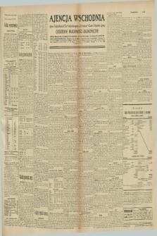 """Ajencja Wschodnia. Codzienne Wiadomości Ekonomiczne = Agence Télégraphique de l'Est = Telegraphenagentur """"Der Ostdienst"""" = Eastern Telegraphic Agency. R.10, nr 273 (27 listopada 1930)"""