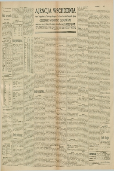 """Ajencja Wschodnia. Codzienne Wiadomości Ekonomiczne = Agence Télégraphique de l'Est = Telegraphenagentur """"Der Ostdienst"""" = Eastern Telegraphic Agency. R.10, nr 274 (28 listopada 1930)"""