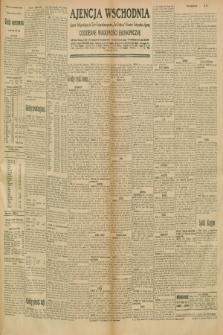 """Ajencja Wschodnia. Codzienne Wiadomości Ekonomiczne = Agence Télégraphique de l'Est = Telegraphenagentur """"Der Ostdienst"""" = Eastern Telegraphic Agency. R.10, nr 275 (29 listopada 1930)"""