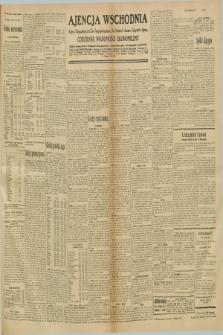 "Ajencja Wschodnia. Codzienne Wiadomości Ekonomiczne = Agence Télégraphique de l'Est = Telegraphenagentur ""Der Ostdienst"" = Eastern Telegraphic Agency. R.10, nr 280 (5 grudnia 1930)"