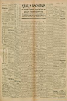 "Ajencja Wschodnia. Codzienne Wiadomości Ekonomiczne = Agence Télégraphique de l'Est = Telegraphenagentur ""Der Ostdienst"" = Eastern Telegraphic Agency. R.10, nr 281 (6 grudnia 1930)"