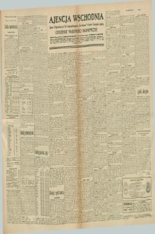 "Ajencja Wschodnia. Codzienne Wiadomości Ekonomiczne = Agence Télégraphique de l'Est = Telegraphenagentur ""Der Ostdienst"" = Eastern Telegraphic Agency. R.10, nr 283 (10 grudnia 1930)"