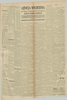 "Ajencja Wschodnia. Codzienne Wiadomości Ekonomiczne = Agence Télégraphique de l'Est = Telegraphenagentur ""Der Ostdienst"" = Eastern Telegraphic Agency. R.10, nr 284 (11 grudnia 1930)"