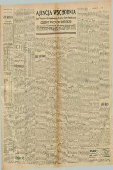 "Ajencja Wschodnia. Codzienne Wiadomości Ekonomiczne = Agence Télégraphique de l'Est = Telegraphenagentur ""Der Ostdienst"" = Eastern Telegraphic Agency. R.10, nr 285 (12 grudnia 1930)"