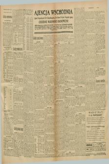 "Ajencja Wschodnia. Codzienne Wiadomości Ekonomiczne = Agence Télégraphique de l'Est = Telegraphenagentur ""Der Ostdienst"" = Eastern Telegraphic Agency. R.10, nr 286 (13 grudnia 1930)"