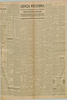 "Ajencja Wschodnia. Codzienne Wiadomości Ekonomiczne = Agence Télégraphique de l'Est = Telegraphenagentur ""Der Ostdienst"" = Eastern Telegraphic Agency. R.10, nr 289 (17 grudnia 1930)"