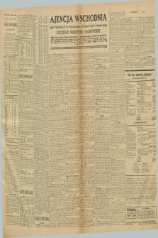 "Ajencja Wschodnia. Codzienne Wiadomości Ekonomiczne = Agence Télégraphique de l'Est = Telegraphenagentur ""Der Ostdienst"" = Eastern Telegraphic Agency. R.10, nr 292 (20 grudnia 1930)"
