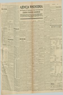 "Ajencja Wschodnia. Codzienne Wiadomości Ekonomiczne = Agence Télégraphique de l'Est = Telegraphenagentur ""Der Ostdienst"" = Eastern Telegraphic Agency. R.10, nr 293 (22 grudnia 1930)"