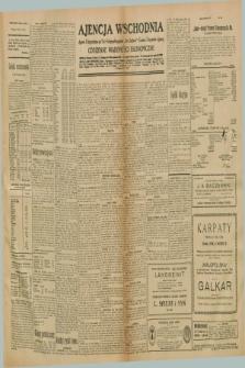 "Ajencja Wschodnia. Codzienne Wiadomości Ekonomiczne = Agence Télégraphique de l'Est = Telegraphenagentur ""Der Ostdienst"" = Eastern Telegraphic Agency. R.10, nr 295 (27 grudnia 1930)"