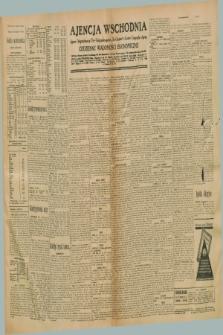 "Ajencja Wschodnia. Codzienne Wiadomości Ekonomiczne = Agence Télégraphique de l'Est = Telegraphenagentur ""Der Ostdienst"" = Eastern Telegraphic Agency. R.10, nr 296 (29 grudnia 1930)"