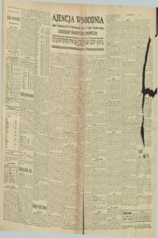 "Ajencja Wschodnia. Codzienne Wiadomości Ekonomiczne = Agence Télégraphique de l'Est = Telegraphenagentur ""Der Ostdienst"" = Eastern Telegraphic Agency. R.10, nr 297 (30 grudnia 1930)"