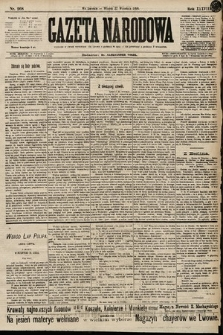Gazeta Narodowa. 1898, nr268