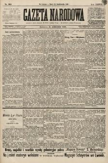 Gazeta Narodowa. 1898, nr283