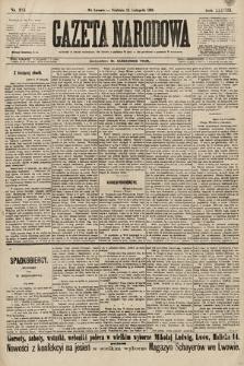 Gazeta Narodowa. 1898, nr315
