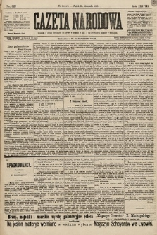 Gazeta Narodowa. 1898, nr327