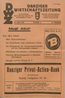 Danziger Wirtschaftszeitung. Jg.16, Nr. 12 (20 März 1936)