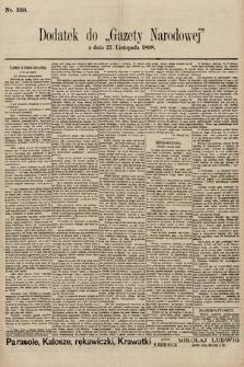 Gazeta Narodowa. 1898, nr330