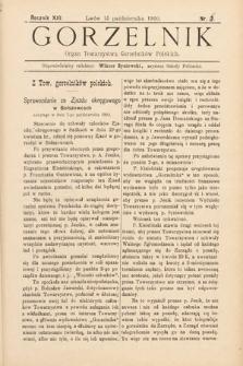 Gorzelnik : organ Towarzystwa Gorzelników Polskich we Lwowie. R. 13, 1900, nr6