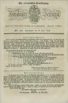 Breslauer Zeitung : mit allerhöchster Bewilligung. 1832, Nro. 151 (30 Juni) + dod.